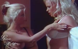 zwei blondinen mit riesen titten