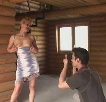 Fisting in der Holzhütte